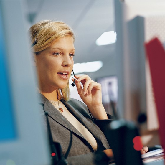 Call centers represent the business to customers.