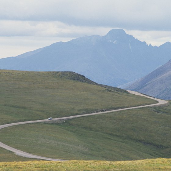 Rocky Mountain National Park's high-county roads are mesmerizing.