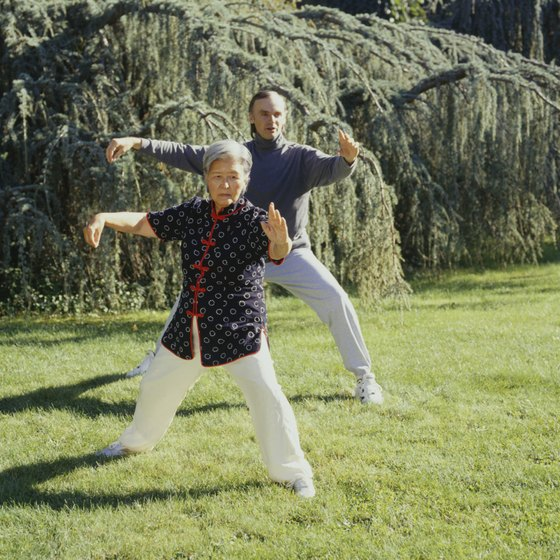 Tai chi is the more familiar internal martial art.