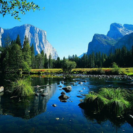 Yosemite Valley is the spectacular centerpiece of the national park.