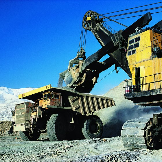 Primary sector industries such as mining directly tap natural resources.