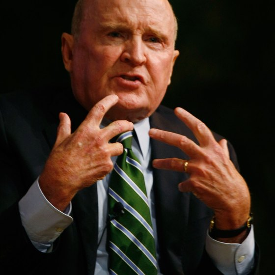 GE's Jack Welch was a leading advocate of forced distribution systems.