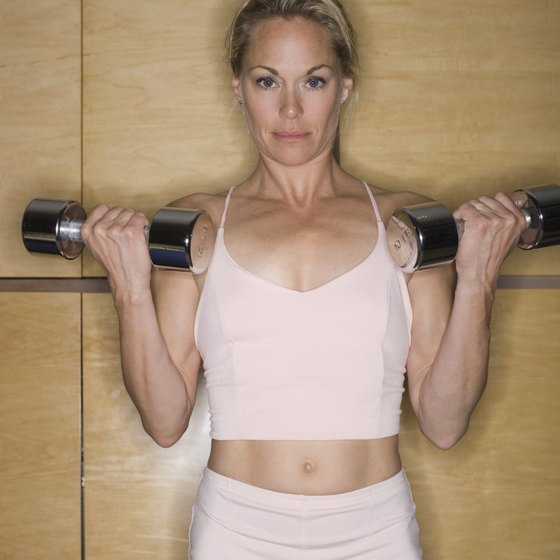 Weight training helps to raise your metabolism and burn more fat.