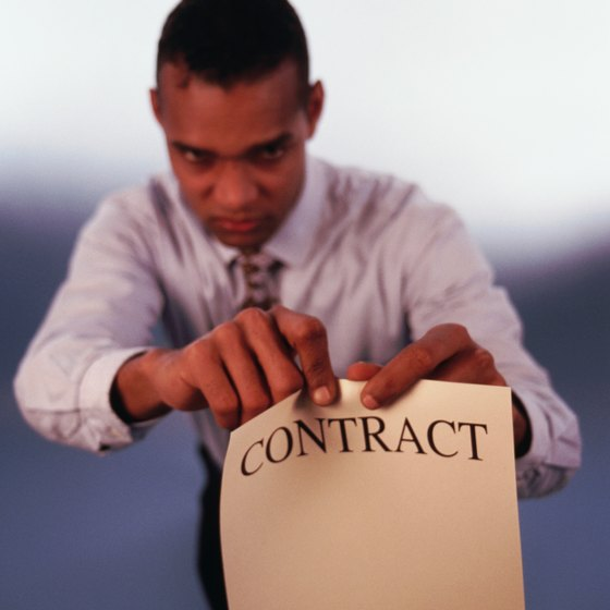 You have to honor employee contracts, even if you fire your staff.