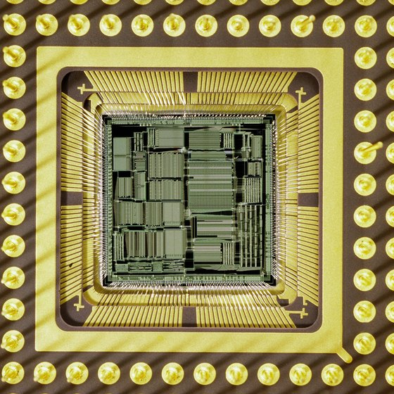 Microprocessors are the brains of computers.