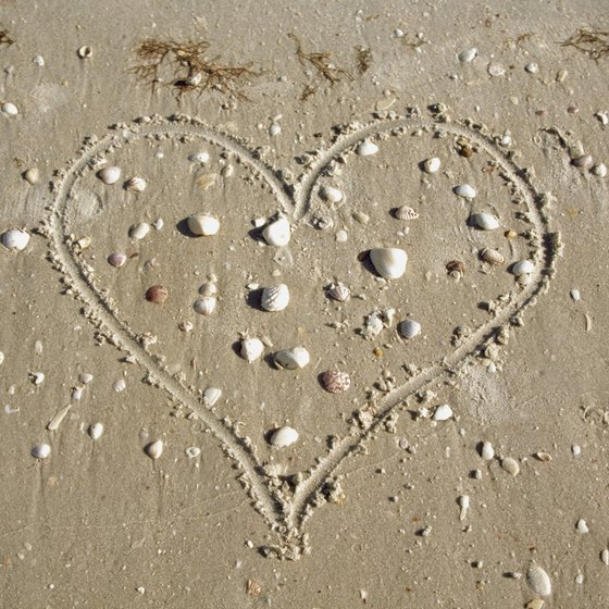 Florida's beaches offer romantic experiences and quiet getaways for couples.