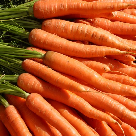 Carrots supply you with fiber and water to aid in your weight-loss efforts.