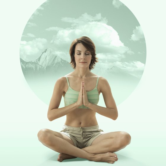 Yoga can help you achieve feelings of deep peace.