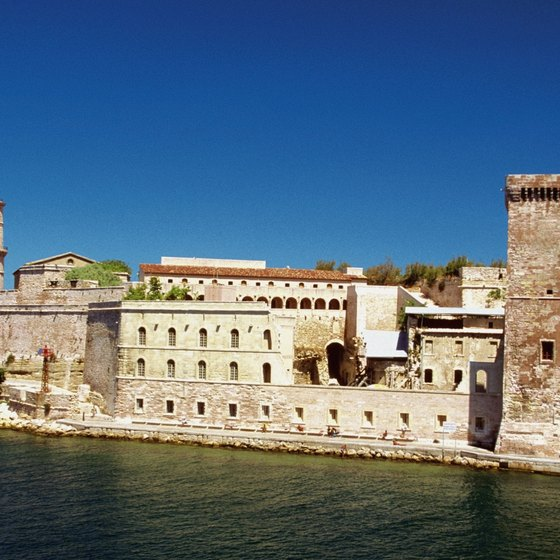 Fort St. Nicholas is an iconic symbol in Marseille.