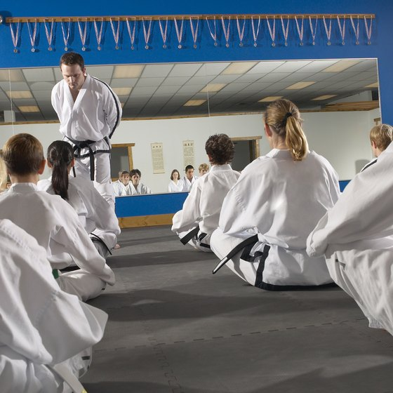 Taekwondo is practiced with others, which provides social support for losing weight.