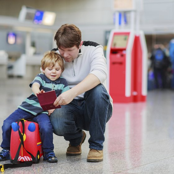 Children need passports to travel internationally.