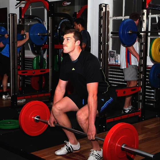 A good set up is key in the deadlift.