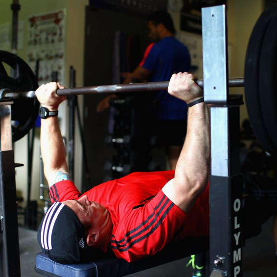Switch from a wide grip to a narrow grip on the bench press.