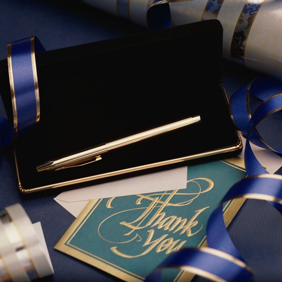 Writing thank you notes keeps you personally engaged with your clients.