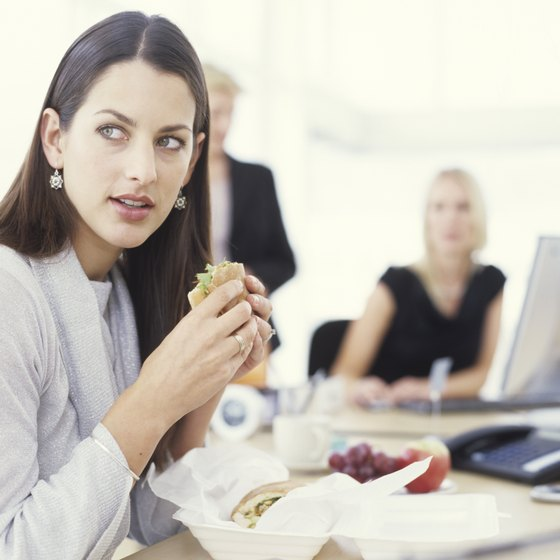 Grabbing fast food at your desk can easily be replaced with a homemade lunch.