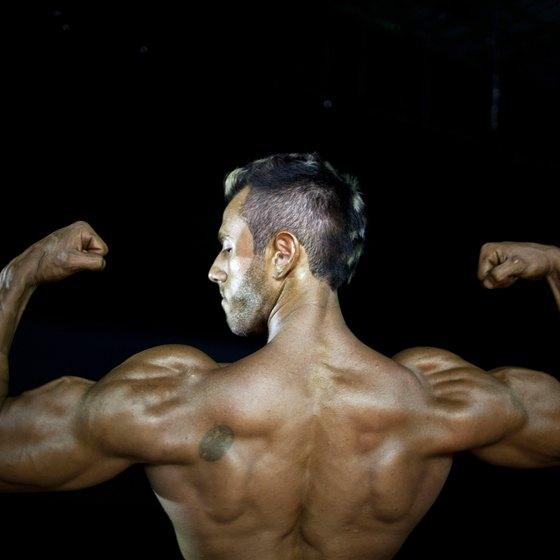 Build big shoulders and big arms to create a balanced physique.