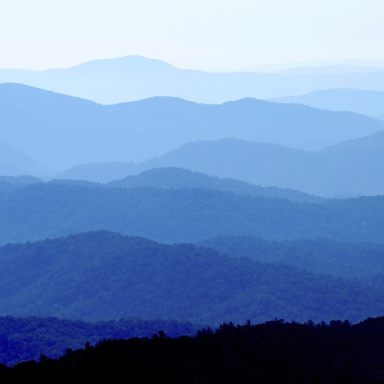 The Blue Ridge contains ecological conditions found only there and in parts of eastern China.