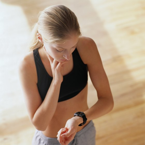 A fast pulse is a normal response to exercise.