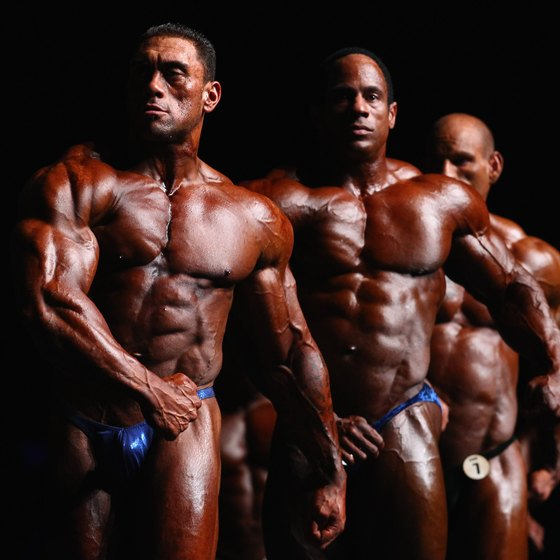 Bodybuilders step on stage at around 3 to 5 percent body fat.