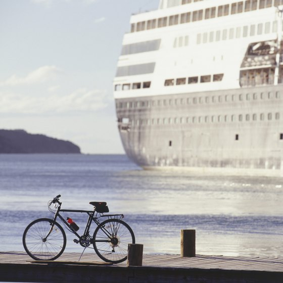Try bike riding while the ship's in port.
