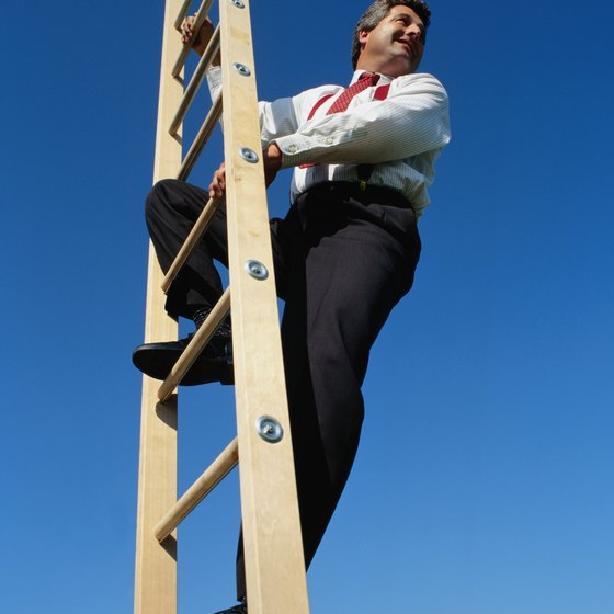 The motivation to climb the corporate ladder may be external and internal.