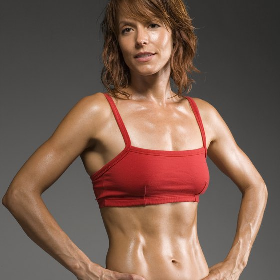 Sweating means you're hot but not necessarily losing weight.