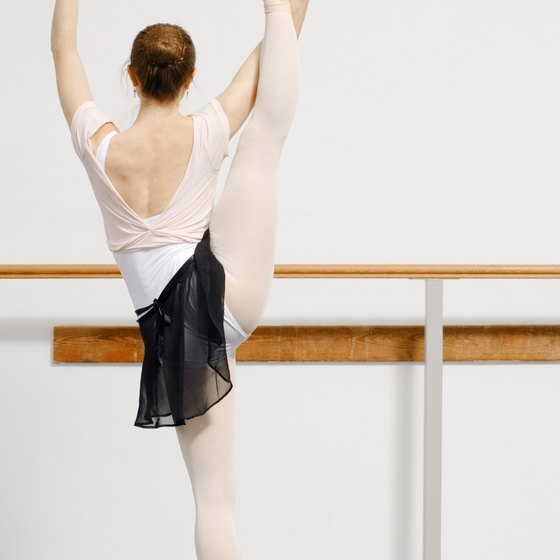 Ballet dancers need to stretch to stay flexible and prevent injury.