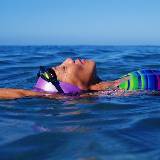 Swimming is a low-impact exercise often recommended for people over 50.