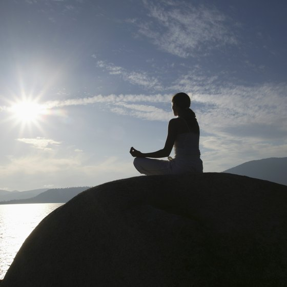 Meditation and a breathing practice help to control kundalini energy.