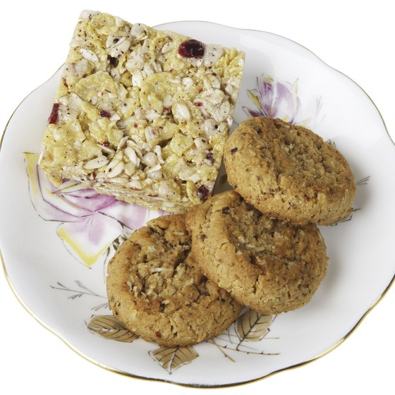 Oatmeal cookies provide essential minerals, including iron.