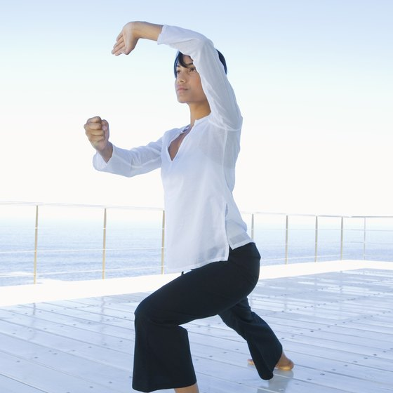 Tai Chi promotes healing of the mind and body.