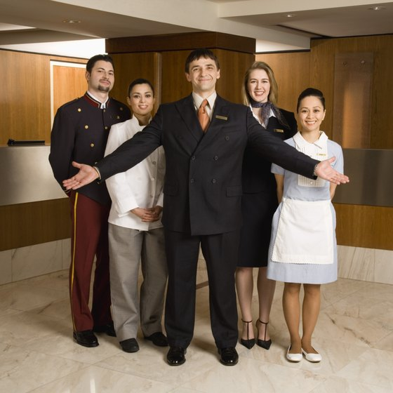 Running a hotel requires a large amount of capital to cover fixed expenses.