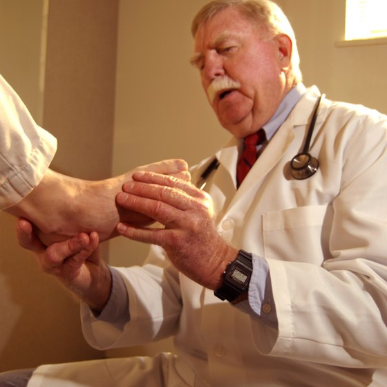 Your doctor or physical therapist may have other ideas for strengthening your ankle while at the office.