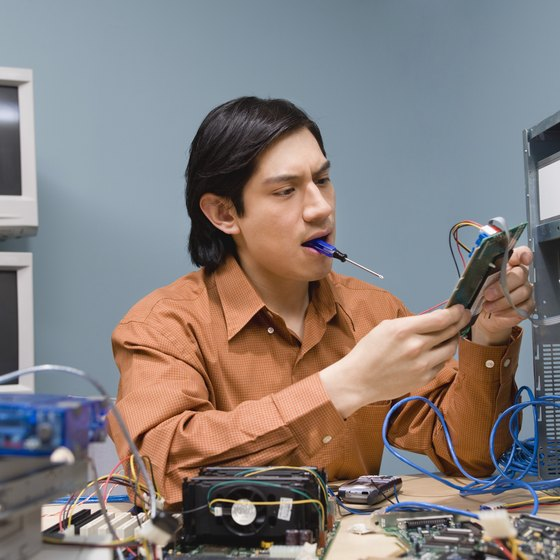 Computers are made up of different components that affect the general performance.