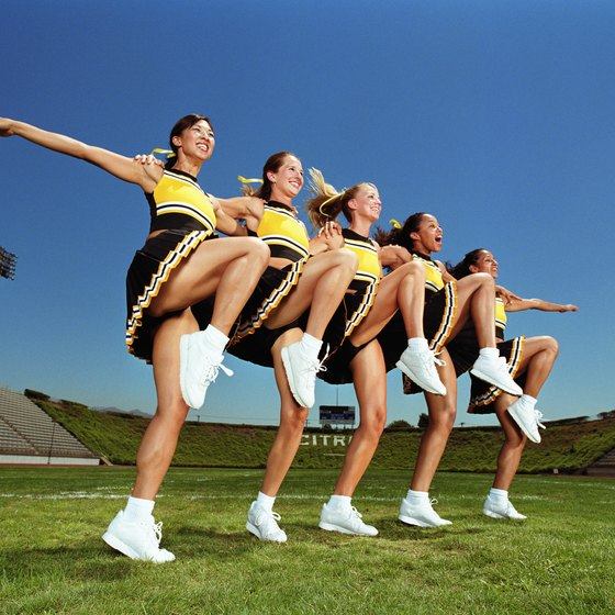 Dance team tryouts require skill and stamina.