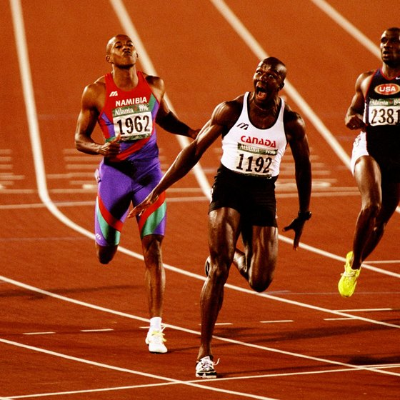 Sprinters need to transition through stages and strategies.