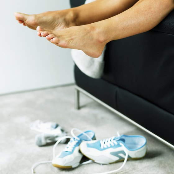 Strengthening your feet can help protect you from injury.