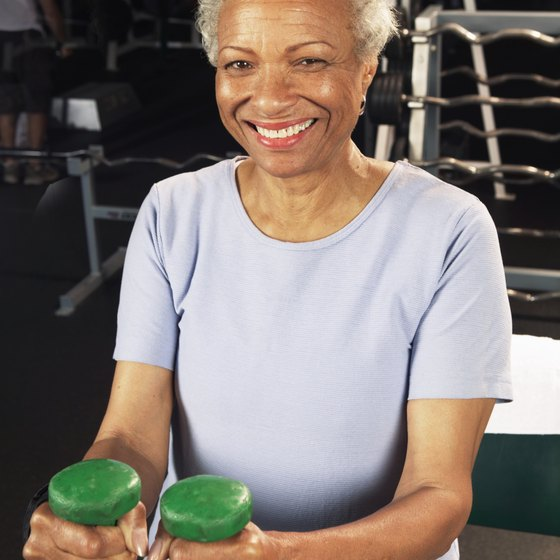 Muscle mass can increase at any age.