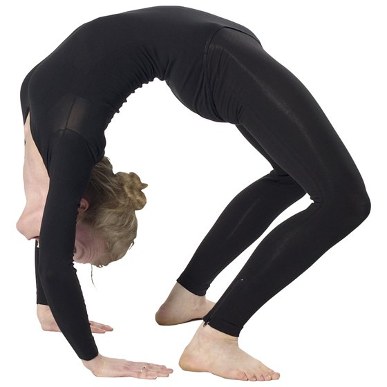 Gymnasts need to be flexible to complete many of their moves.