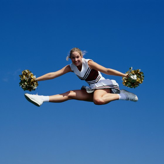 How to Do a Cheerleading Toe Touch How to Do a Cheerleading Toe Touch new picture