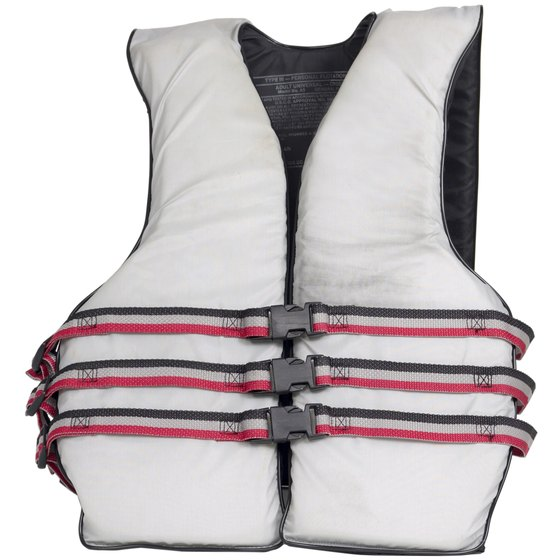 Flotation devices are helpful in slowing heat loss in water.
