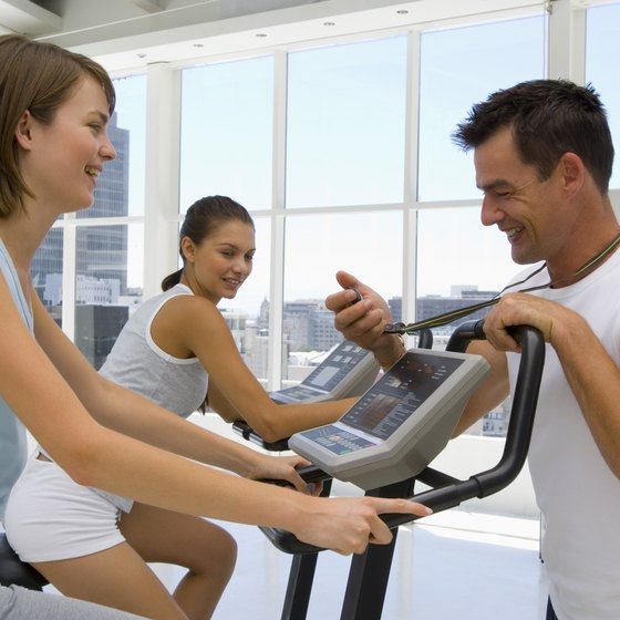 A personal trainer uses your target heart rate to develop a HIIT plan.