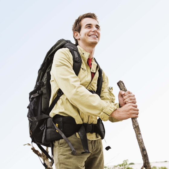 Hiking burns more calories than walking on flat surfaces.