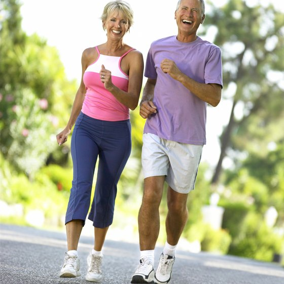 Jogging can improve your lung function.