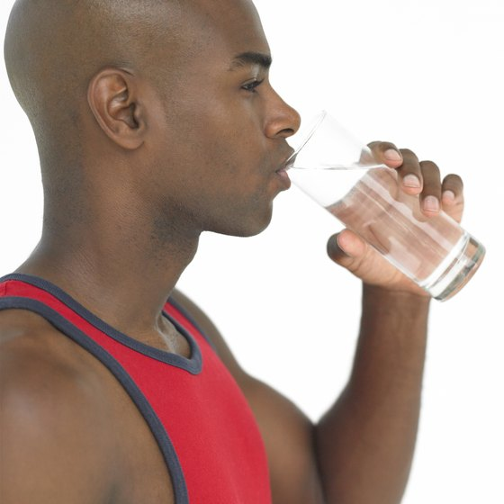 Just water may not be sufficient to prevent dehydration after exercise.
