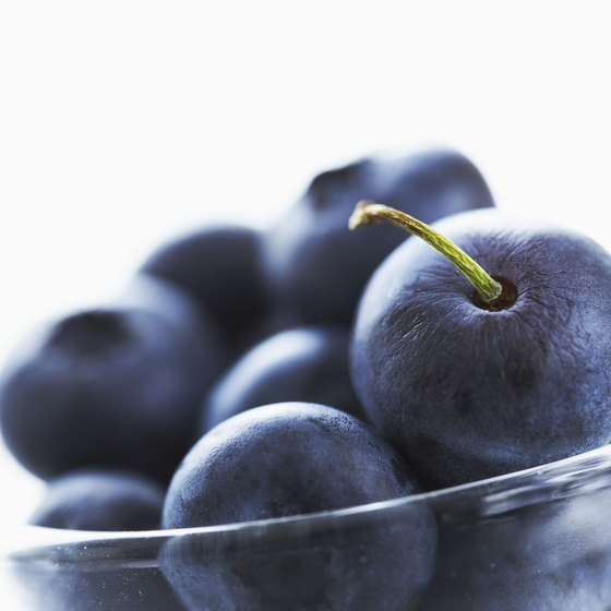 Blueberries provide high amounts of beneficial phytochemicals.