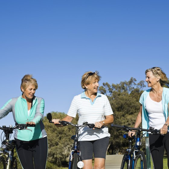 Exercising with others can make working out more fun.
