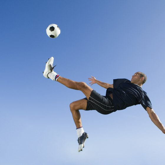 Soccer players often sustain adductor muscle injuries.
