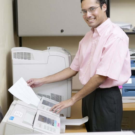 Save time with a custom fax cover sheet.