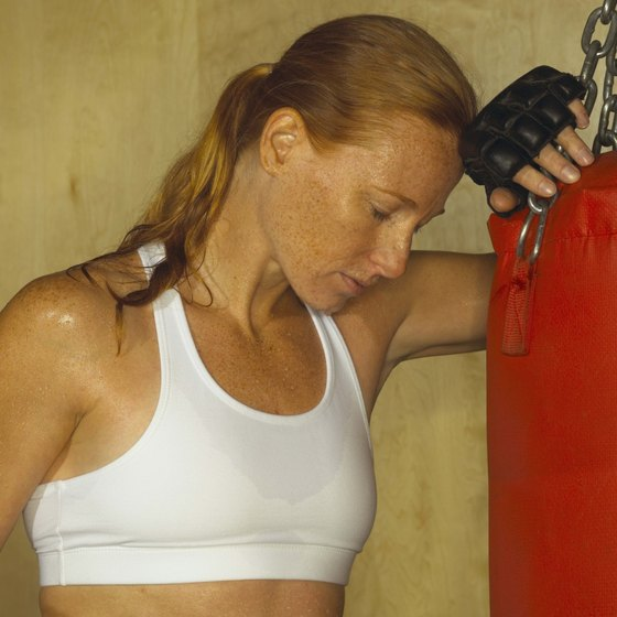 A tough workout can leave you feeling drained.
